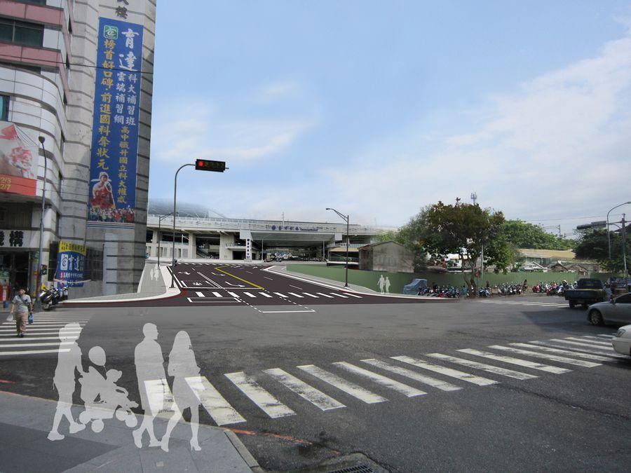 台中大智路打通將增加火車站車流量