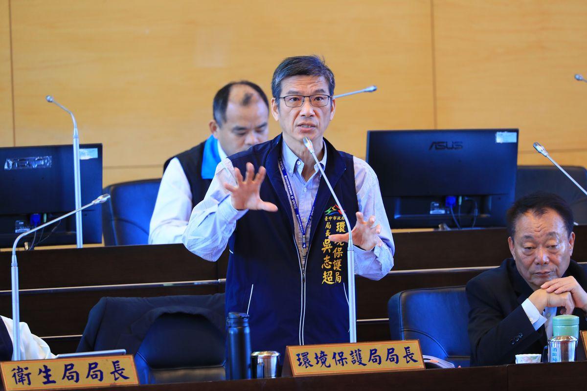 環保局長吳志超因健康因素請辭 遺缺由副局長陳宏益暫代