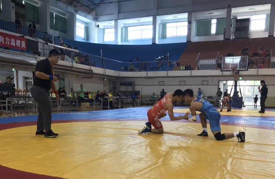 台中議長盃角力錦標賽逾300人競技