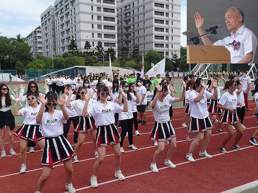 24日僑光科技大學歡慶56週年校慶