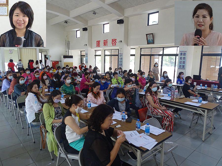 新移民女性組織領導人培訓營在國民黨市黨部舉行