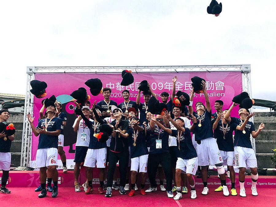 台中市代表隊順利蟬聯3屆全民運動會第一名