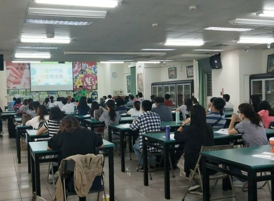 600名國中小學教師參加防毒守門員種子師資培訓課程