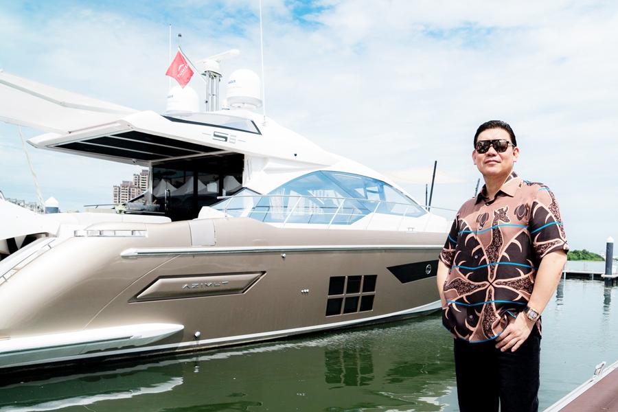 台遊艇業走向國際  莊周文投資搶先機