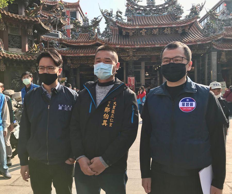 王浩宇罷免事件延燒  中市議員也發起「罷免陳柏惟」行動