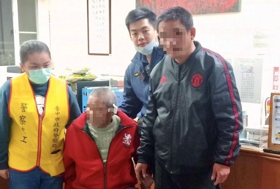 天寒地凍!8旬老翁寒夜迷途 新社警助返家