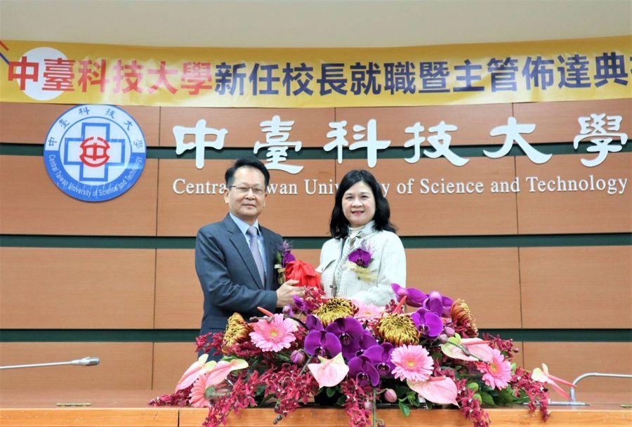 中臺科大新任校長陳錦杏 打破創校55年雙紀錄