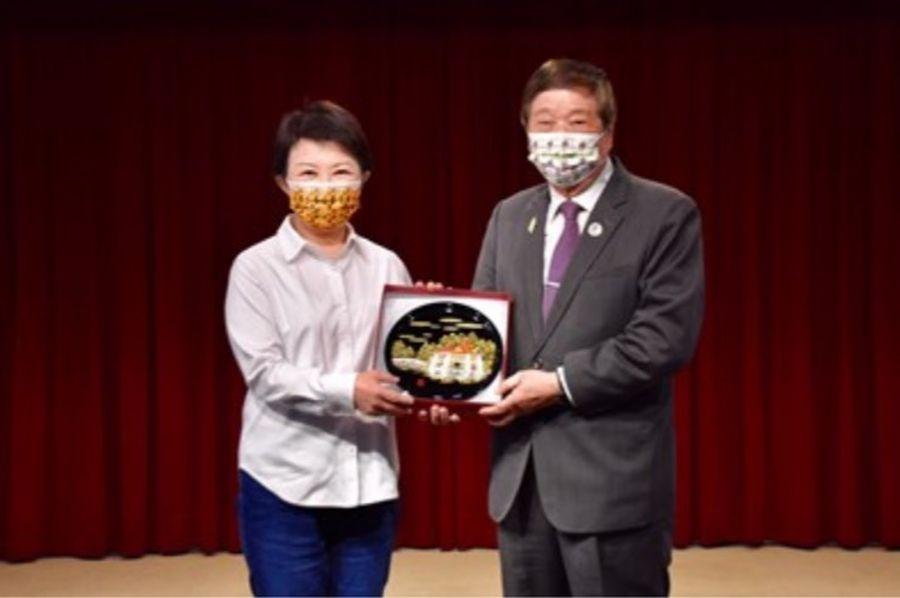 亞洲台灣商會聯合總會拜會 盧市長歡迎投資台中共創雙贏