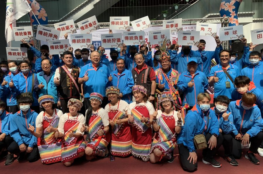 全國原住民族運動會 台中隊人數歷年最多誓言爭取最佳成績