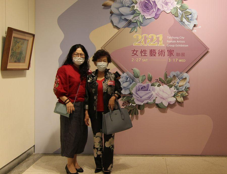中市女性藝術家聯展登場 118位女性參展創新高
