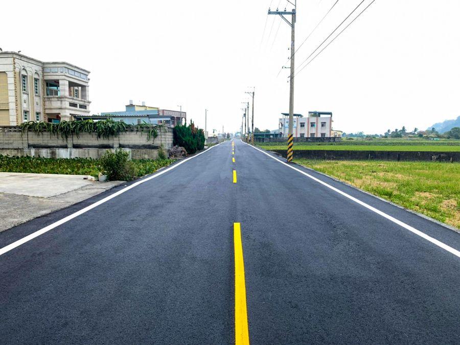海線建設再添一樁 外埔土城路燙平1.65公里完工