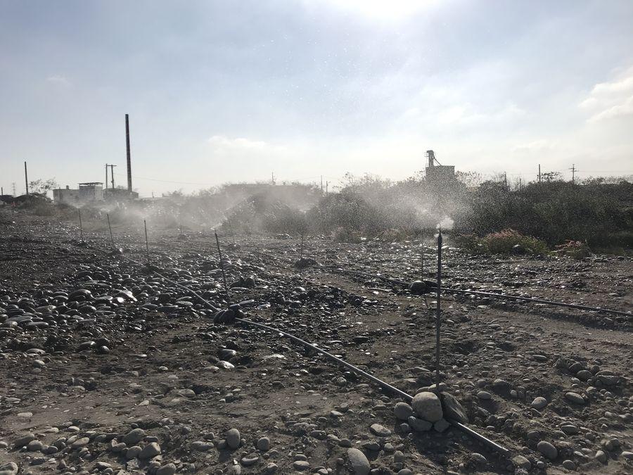 中市7年未有大規模河川揚塵 超過7成民眾有感