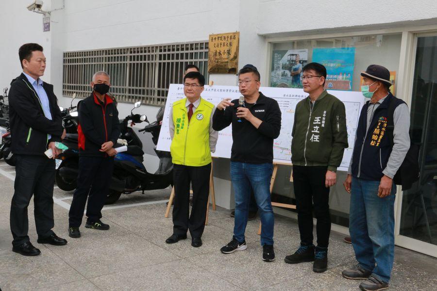 守護台灣珍貴水資源  蔡其昌爭取7100萬自來水管線汰換