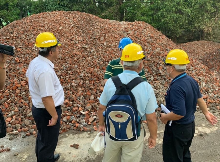 中市環保局訂營建廢棄物處分原則