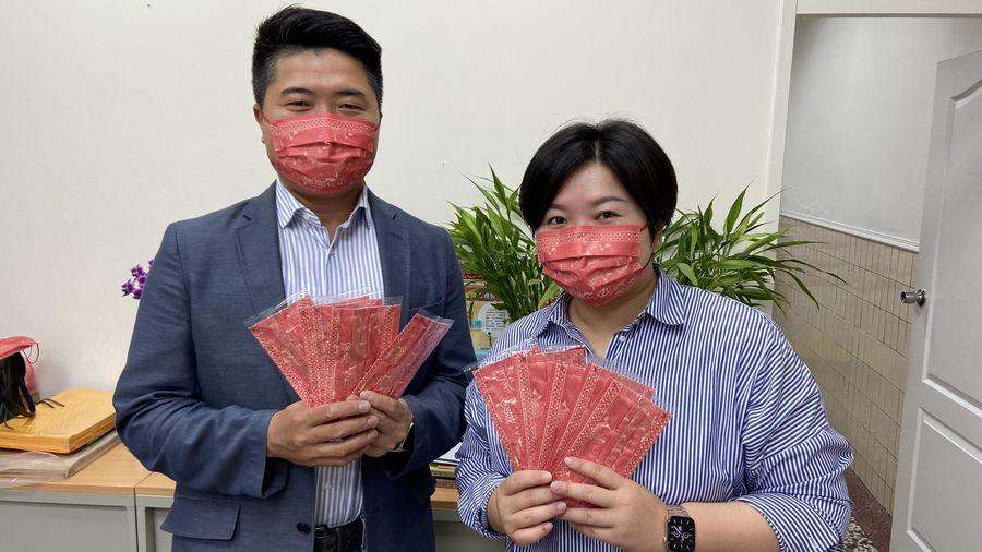 Q版媽祖口罩超吸睛  信徒募款製作1萬個沿途發送