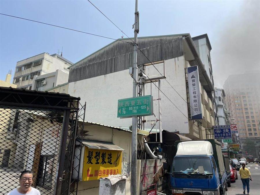台中頂樓鐵皮加蓋公寓火警 造成1死3傷慘劇