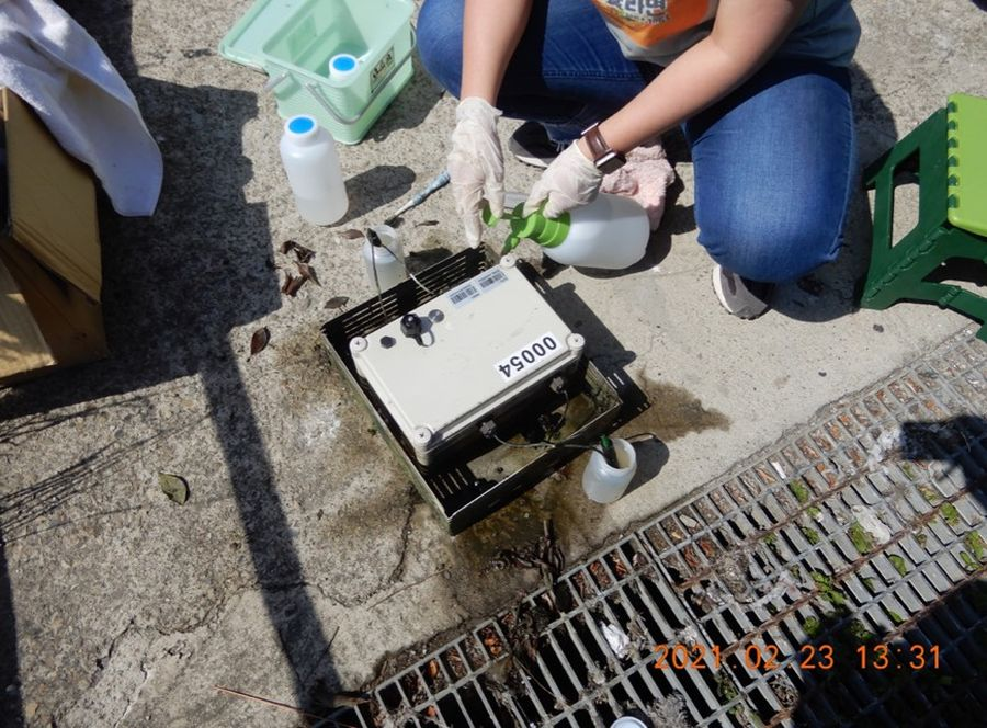 中市水盒子全力對抗水污染 全天候不間斷監測