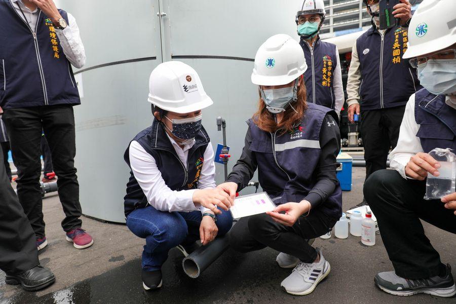 積極協尋水源!工地提供地下水  盧秀燕視察要求確保水質