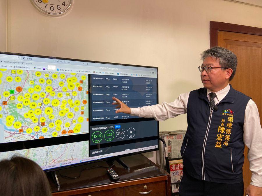 工地污染無所遁形 中市環保局導入60組科技利器