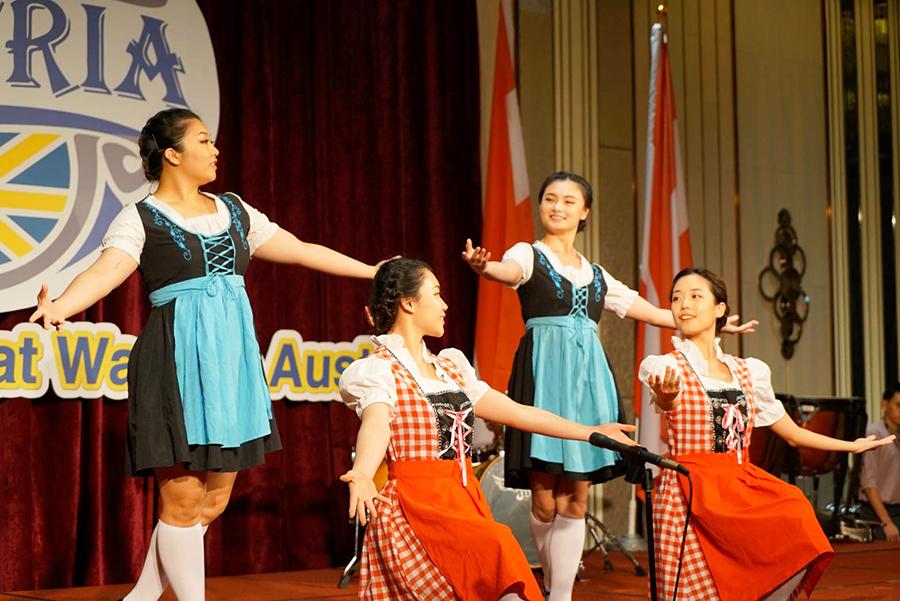 葳格奧地利文化週 架構孩子國際觀