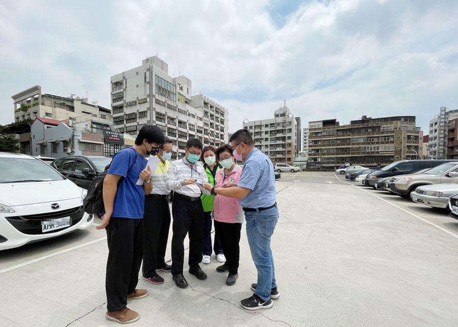 配合東區急速發展 市議員邱素貞爭取停車場明年動工