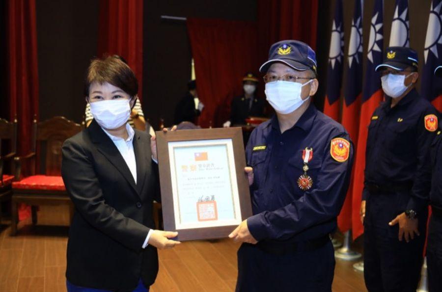 中市刑案破獲率上升 緝毒成效六都第一 盧市長肯定警察守護城市安全