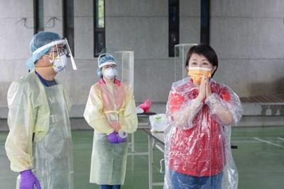 中市北屯家庭群聚感染多例  市府設前進指揮所圍堵疫情