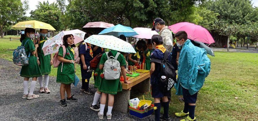 中市51校幼童軍齊聚中央公園  感受科技環保自然生態