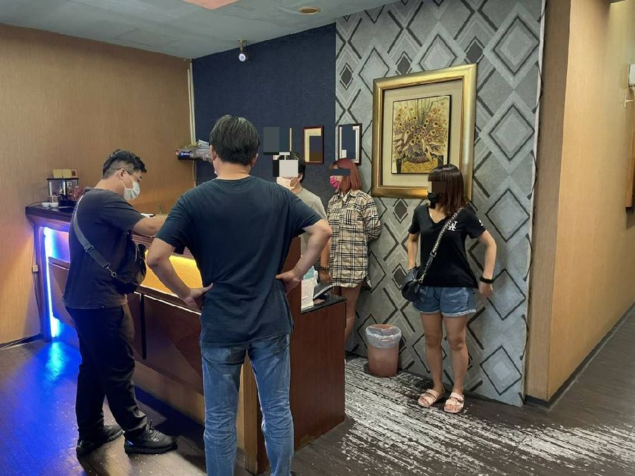 娛樂場所假關門真營業   中市六分局查獲移送裁罰