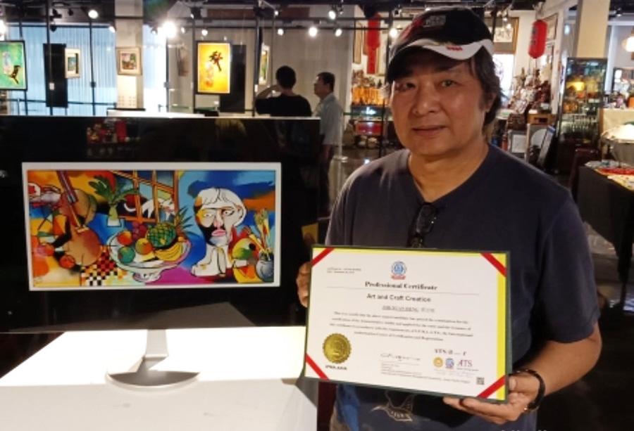 鄧志炫 展現生命藝術的精采
