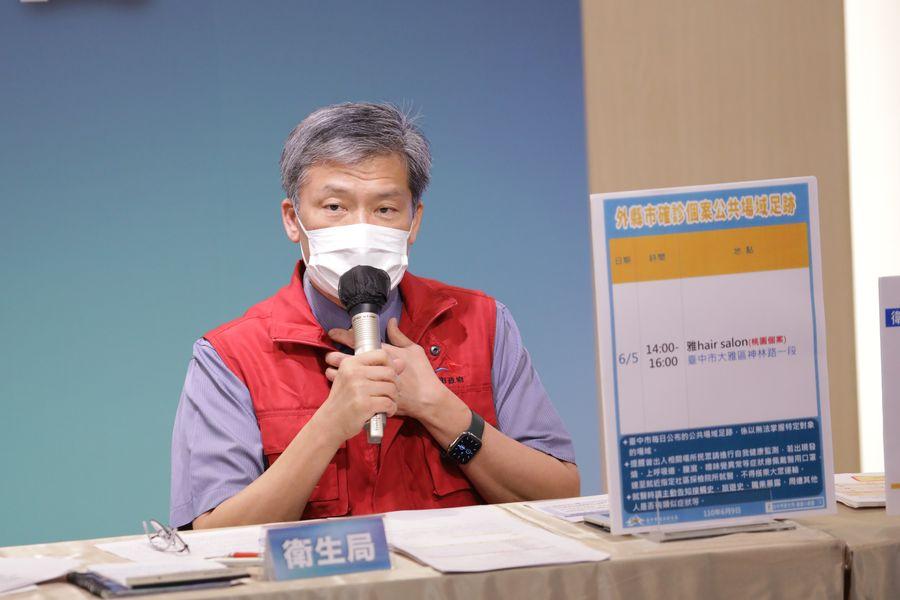 中市第二起新冠肺炎確診病逝  80歲老翁有慢性疾病史
