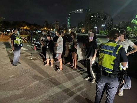 14人深夜重劃區群聚  警四分局送辦