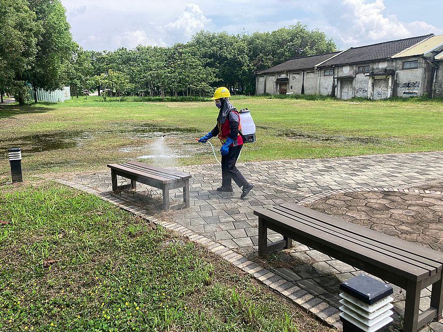 727全國警戒降為二級 台中環保局恢復6項措施