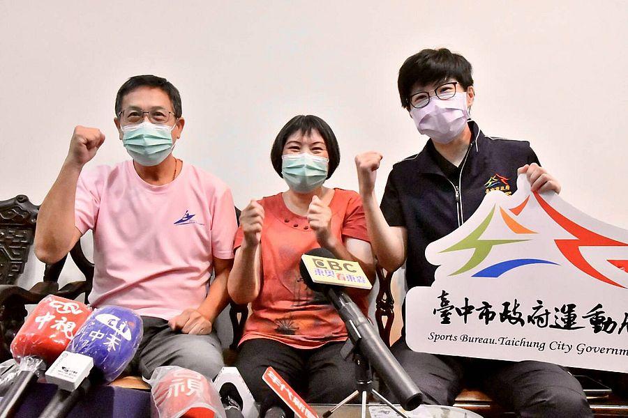 張筑涵創台灣首位參賽奧運輕艇 盧秀燕:寫下奧運參賽史新頁