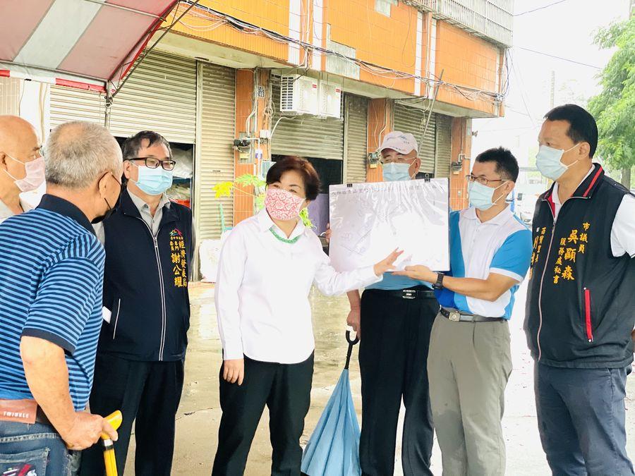 立委楊瓊瓔、市議員吳顯森爭取大雅區供水延管工程